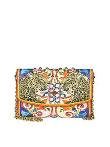 Dolce & Gabbana - Leather clutch bag