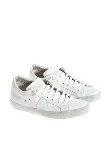 Philippe Model - Paris white leather sneakers
