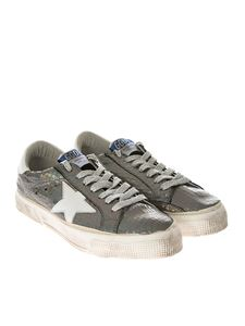 Golden Goose Deluxe Brand - May sneakers with cocco effect