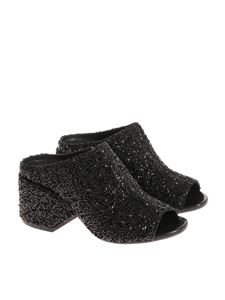 MM6 by Maison Martin Margiela - Glitter and beads shoes