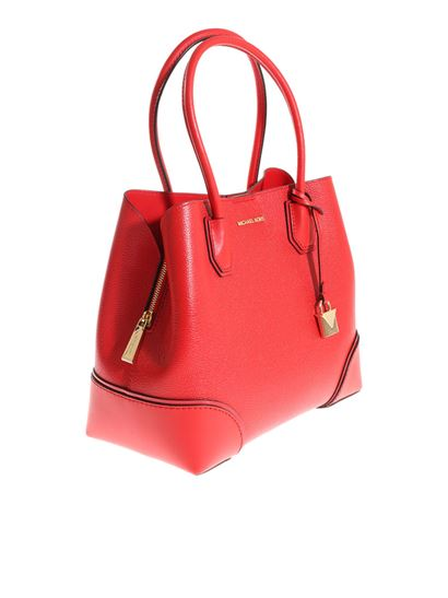 Michael Kors Carrie Over mercer corner bag - 30H7GZ5T6A BRIGHT RED 2f8394ba6ca