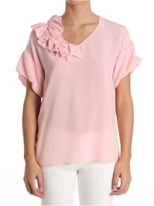 Moschino Boutique - Top with flounce