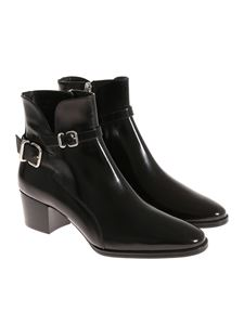 Tod's - Patent leather ankle boots