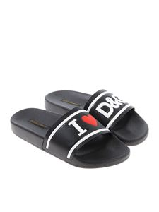 Dolce & Gabbana - I Love D & G slippers