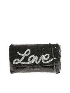 Love Moschino - Sequins love bag