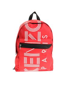 Kenzo - Red backpack with logo