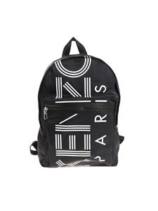 Kenzo - Black logo printed Backpack