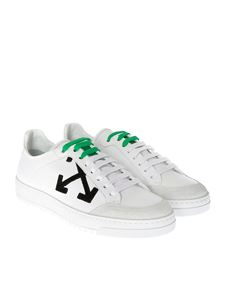 Off-White - Leather sneakers