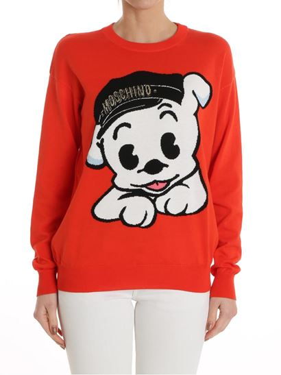 Betty Boop Pudgy dress Moschino Free Shipping Inexpensive Clearance Wiki Discount In China mABrYHJf