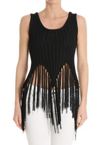 Moschino - Fringed top