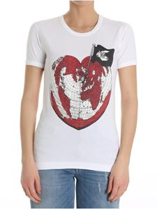Vivienne Westwood Anglomania - Heart World T-shirt