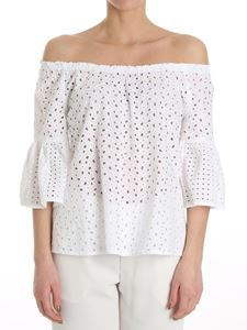 Blugirl - Broderie anglaise top