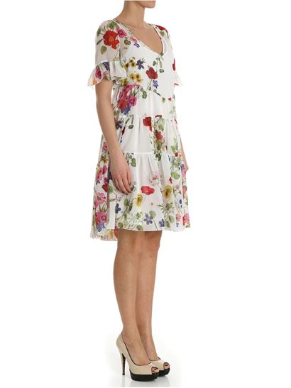 Collections Clearance Online Fake Floral pattern dress Blugirl Amazon For Sale KHRb5XiPwi