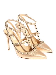 Valentino - Leather pumps with studs