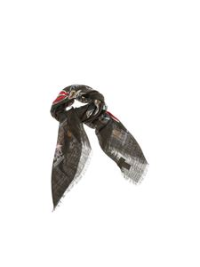 Valentino - Foulard with medal print