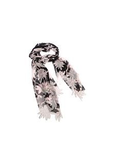 Valentino - Floral pattern scarf