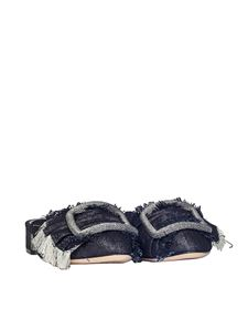Casadei - Denim mules