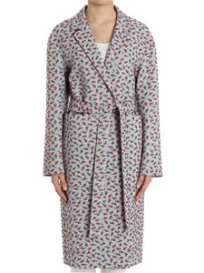 Rochas - Roses embroidered coat