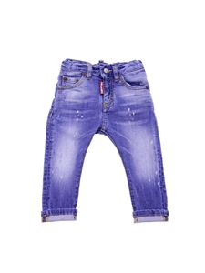 Dsquared2 - Blue 5 pocket jeans