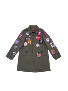 Dsquared2 - Army green jacket with patches