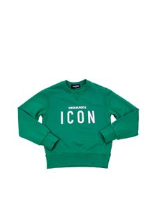 Dsquared2 - Green T-shirt with Icon print