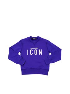 Dsquared2 - Blue T-shirt with Icon print
