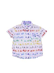 Paul Smith - Short-sleeves shirt with bicycle print