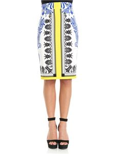 Versace Collection - Majolica patterned skirt