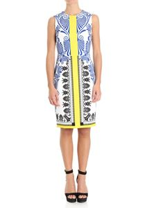 Versace Collection - Majolica patterned dress