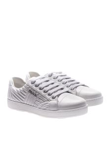 Prada - White quilted leather sneakers