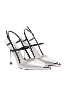 Prada - Pointy pumps with metal details