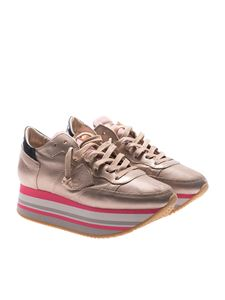 Philippe Model - Eiffel champagne sneakers