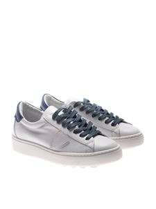 Philippe Model - Madeleine white and blue sneakers
