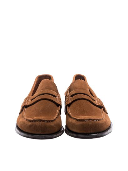 e19730736d5 Church s Spring Summer 2018 brown suede pembrey loafers - EDB003 9VE ...