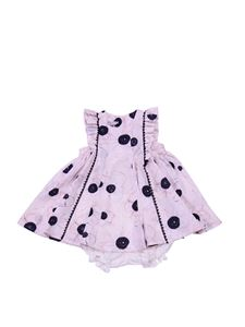 Baby Dior - Pink dress with floral print