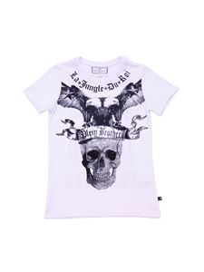 Philipp Plein - White printed t-shirt