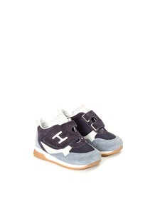 HOGAN JUNIOR - sneakers with strap