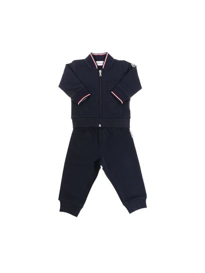 Moncler Jr - Blue tracksuit set
