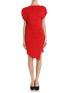 Vivienne Westwood Anglomania - Red jersey Shore dress