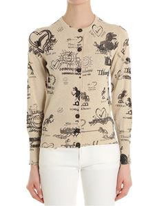 Vivienne Westwood Anglomania - Classic printed cardigan