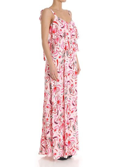 Long dress in shades of pink Dondup 24spZQy