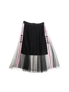 MSGM - Black tulle skirt