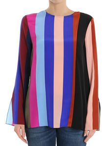 Diane von Fürstenberg - Multicolor striped blouse