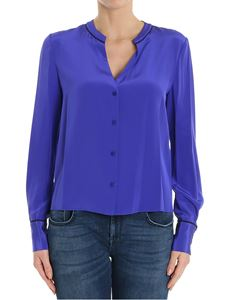 Diane von Fürstenberg - Electric blue silk shirt