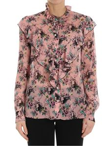 Moschino Boutique - Roses print shirt