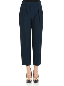 See by Chloé - Blue high waist trousers