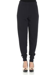 See by Chloé - Blue trousers with elastic bottom