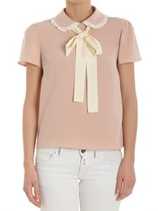 Red Valentino - Pink top with bow