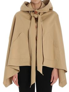 See by Chloé - Beige hooded cape