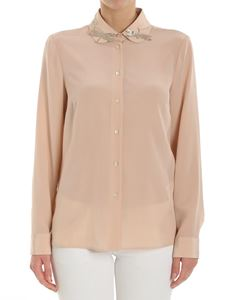 Red Valentino - Pink shirt with golden dragonflies